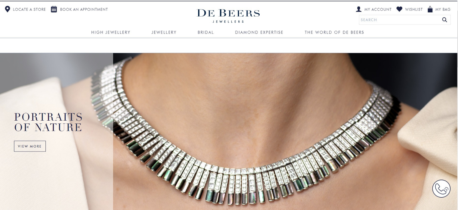 De Beers Diamond Jewellery - The William Agency - Branded Copywriting