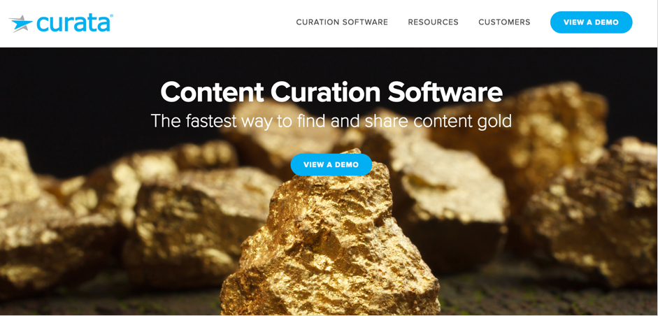 The WIlliam Agency curata content curation tool