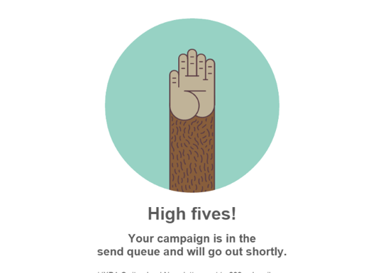 The WIlliam Agency Mailchimp UX Microcopy