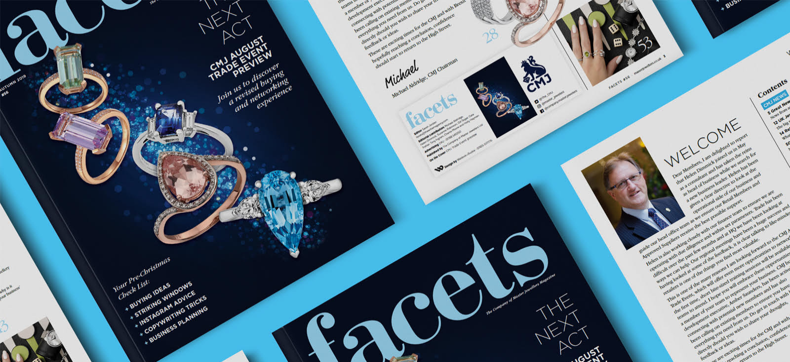 Company of Master Jewellers Facets Magazine - The William Agency Portfolio - Feature Writing and Contract Publishing