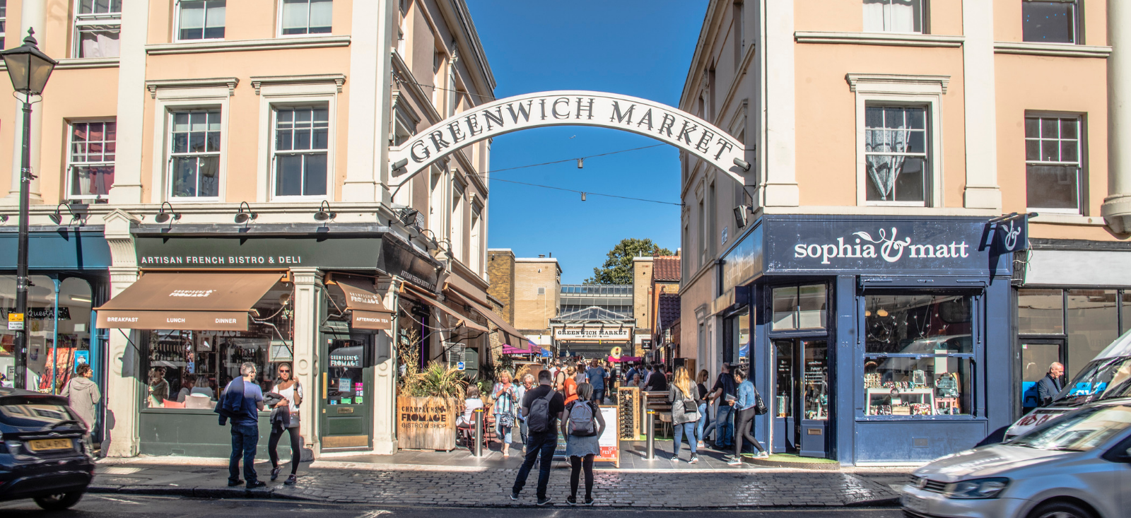 Greenwich Market - The William Agency Portfolio- Social Media Management
